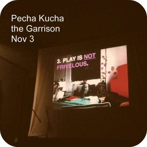 Art, Design and Passion at Pecha Kucha