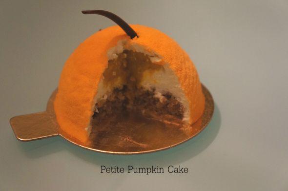 Petite Pumpkin Cake