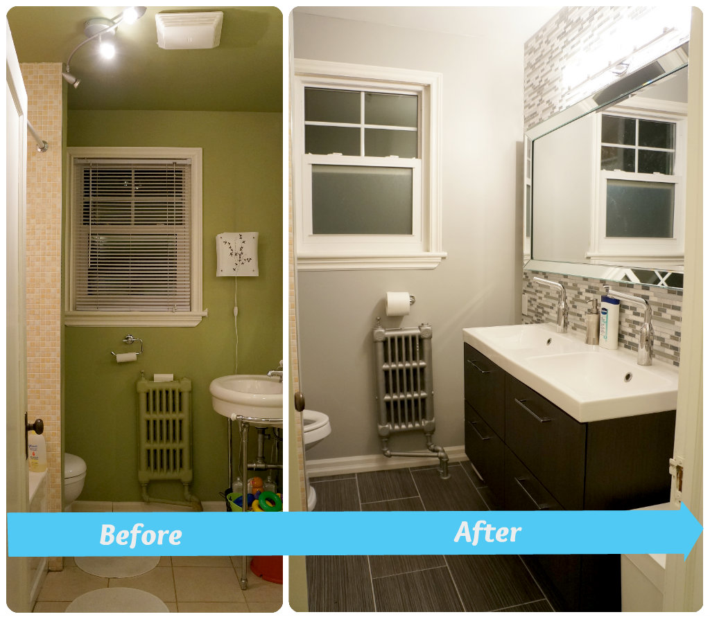 Bathroom Renovation Before After Creditrestore Us