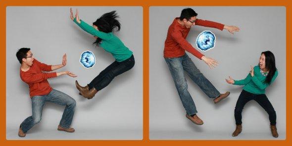 Judy and Cyrus Hadouken Meme OurTorontoLife Fireball