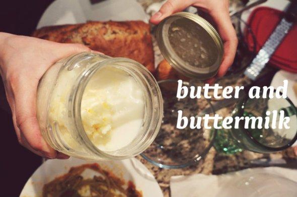 Homemade Butter Homemade Buttermilk OurTorontoLife
