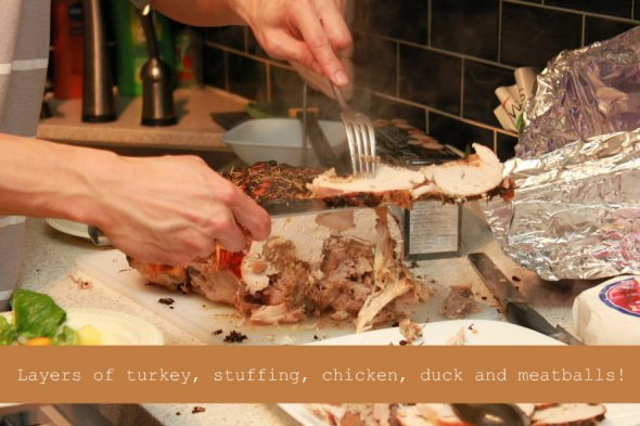 How to Make a Turducken Layers Turducken OurTorontoLife