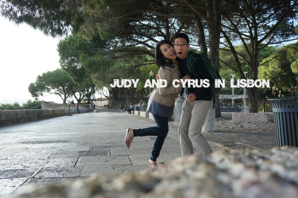 Judy and Cyrus in Lisbon Portugal Honeymoon OurTorontoLife