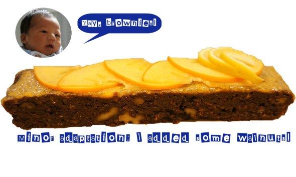 persimon persimmon brownie ourtorontolife
