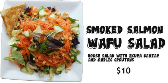 Wafu Smoked Salmon Salad Shiso Tree Cafe OurTorontoLife 2