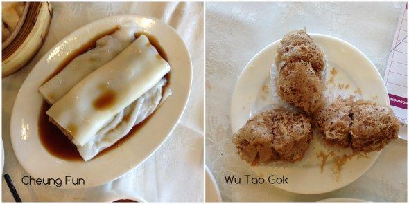 Rice Noodle Roll Taro Dim Sum Toronto
